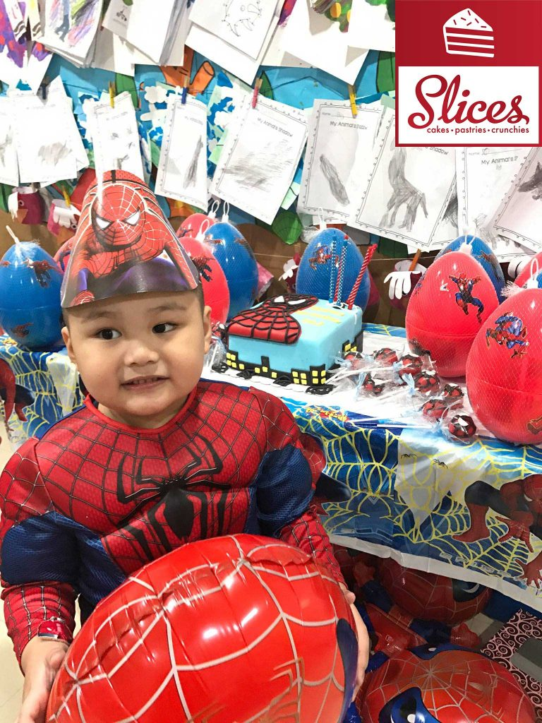 Spiderman fondant cake manila by slices cake