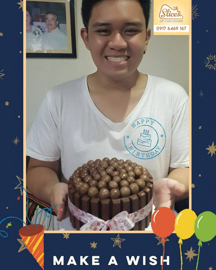 kitchoc maltesers cake by slices surprised by mam grace Mesugas - the best cake in town