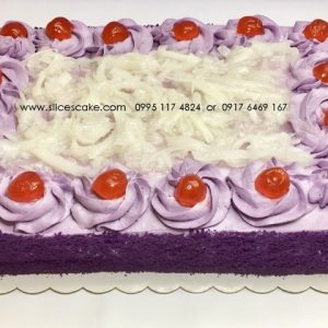 ube yam cake by slices cake best for families (Small)
